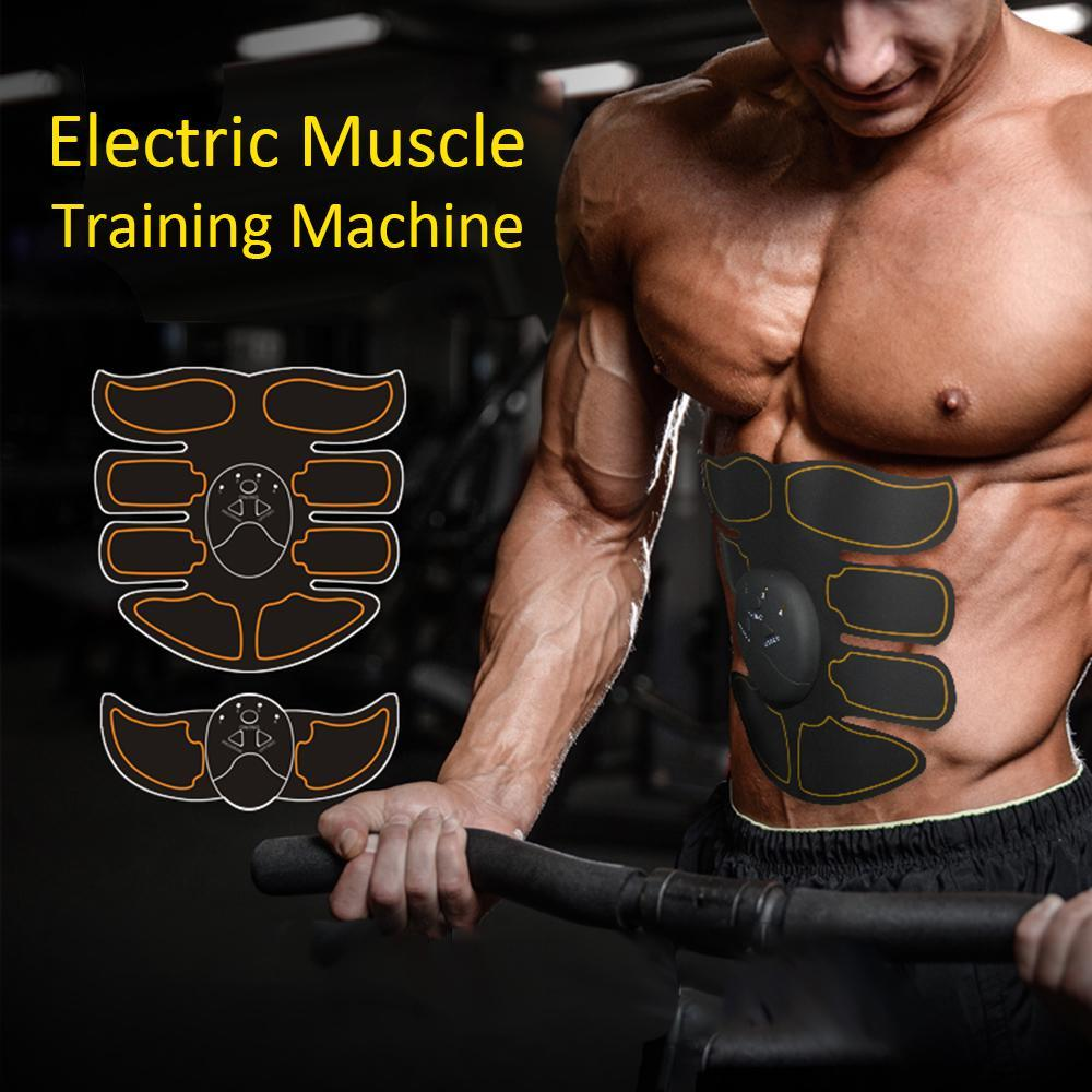 Details about  /Electric Abdominal Arm Body Muscle Toning Trainer Stimulator Exercise Fat Burner