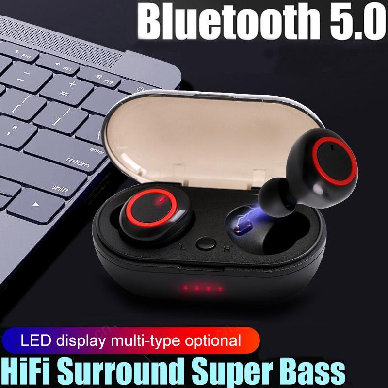 Мини-прочная гарнитура TWS CSR4.2 Беспроводные наушники Bluetooth-наушники С зарядным устройством фото