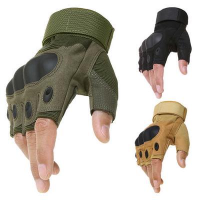 Military Tactical Motorcycle Hunting Motor bike Hard Knuckle Full Finger Gloves