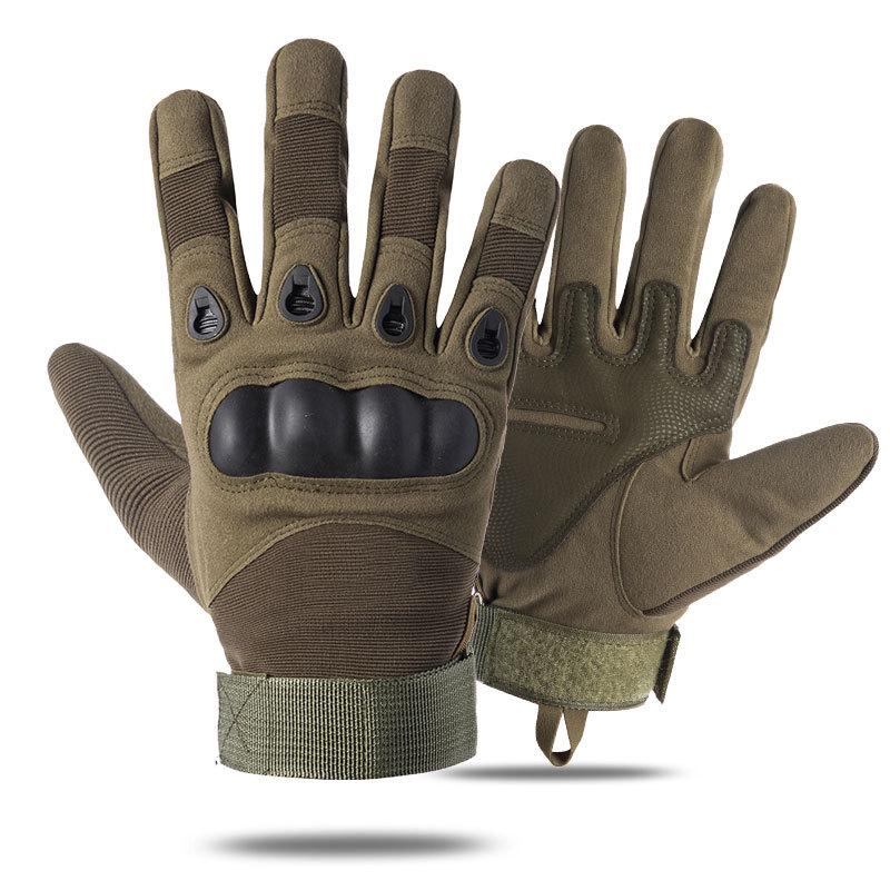US Outdoor Sports Cycling Full Finger Glove Riding Anti Slip Bike Bicycle Gloves