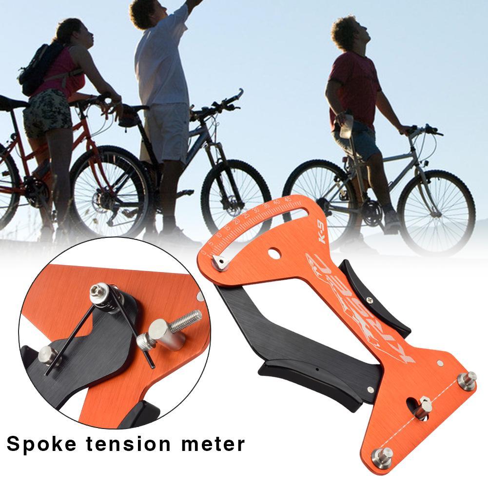 Road Bicycle Indicator Meter Tensiometer Spoke Tension Wheel Repair Tool CyclCRD