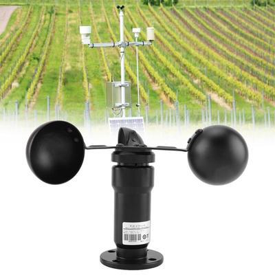 Pulse Signal Output Aluminum Alloyed Wind Speed Sensor Anemometer