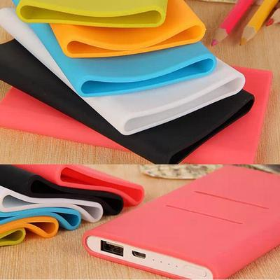 Hot Silicone Case Cover Sleeve for Xiaomi Power Bank 5000mA Portable Charge