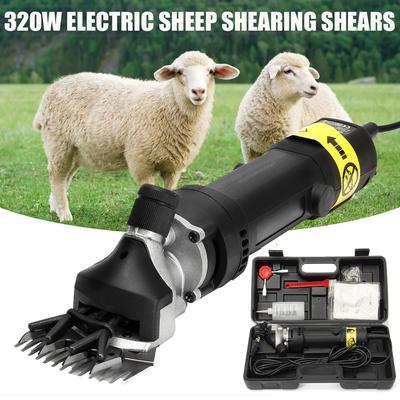 220V Shear 500W For Sheep//Goats Livestock Pet Animal Electric Shearing Clipper