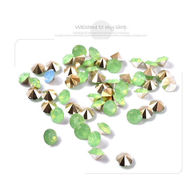 Cristal micro diamantes de imitación para uñas de acrílico arte ...