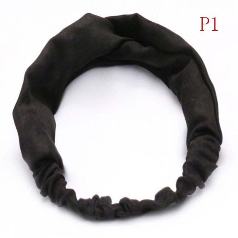 Boho Floral Twist Knot Headband Elastic Wrap Turban Hair Band Hairband Sports☆