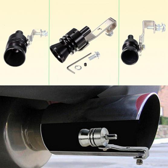 1x Car Blow Off Valve Noise Turbo Exhaust Muffler Tip Whistle Sounder Simulator