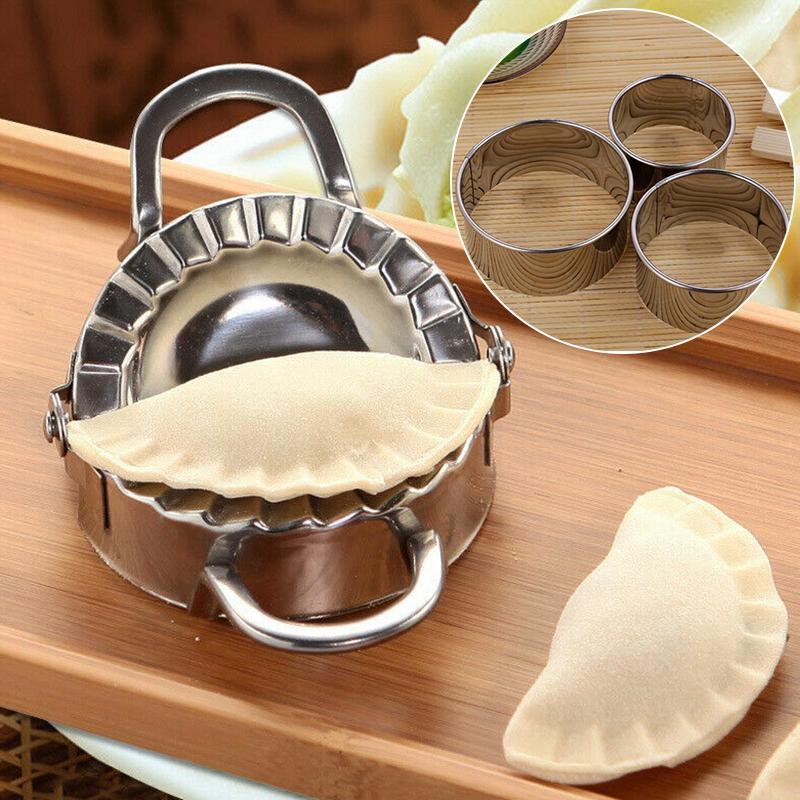 Dumpling Mold Gadget Dough Press Ravioli Making Mould Kitchen Cookware Supply