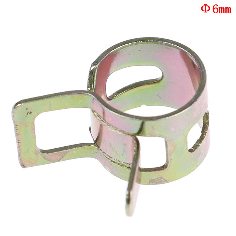 6mmAs The Picture 6-15mm Spring Clips Fuel Oil Water Hose Clip Pipe e Clamp tener