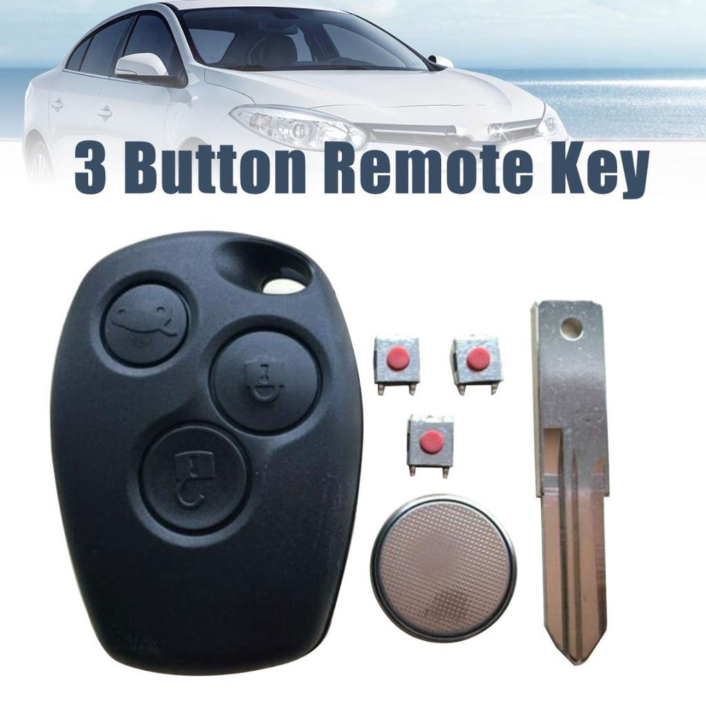 Renault Scenic 3 Botón Fob Remoto Tarjeta de clave de tarjeta de clave de coche con placa de circuito