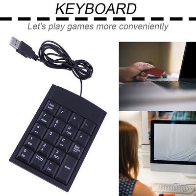 Mini Gaming Keyboard Game Keypad One Single Hand Backlit for PC Laptop K5P9 47