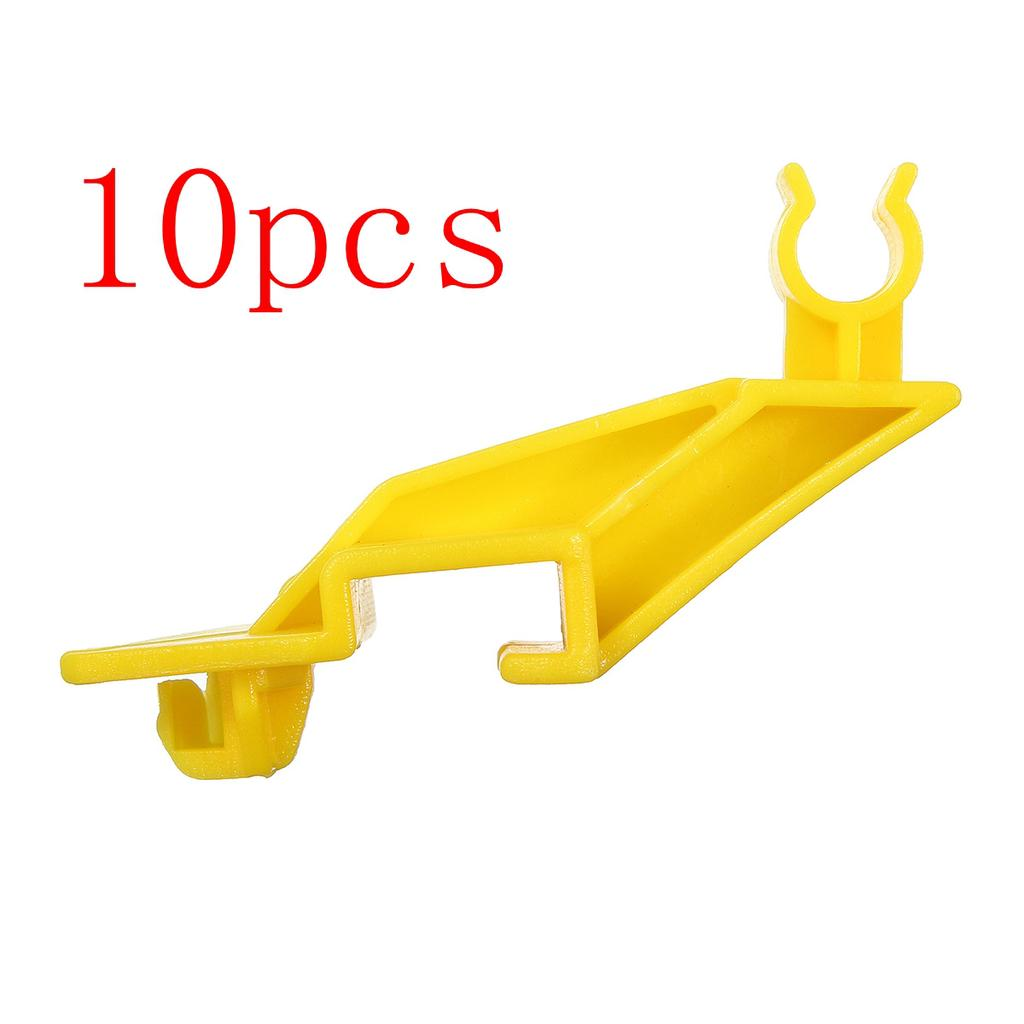 10x Bumper Tailgate Mounting Clips for Ford Focus Fiesta//Fusion