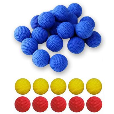 10 Pcs/set Round Elastic Round Bullet Balls Bullets For Nerf Plastic Gun  Game For Children Kids