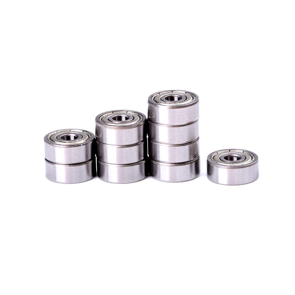 10pcs MR74z 4x7x2mm Open Miniature Bearings ball Mini Hand Bearing Spinner 2