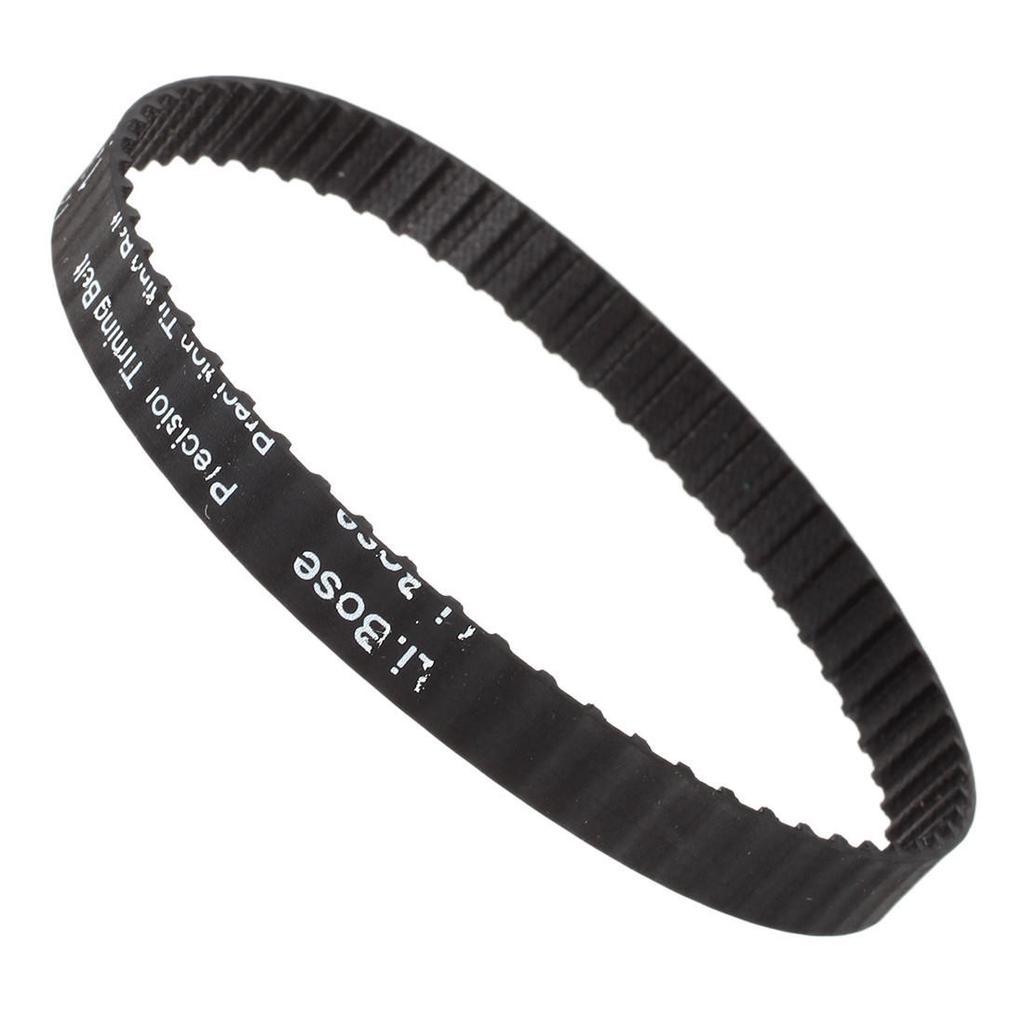 10mm Wide 5.08mm Pitch 60 Teeth 60T Synchro Cog Timing Belt Black 120XL