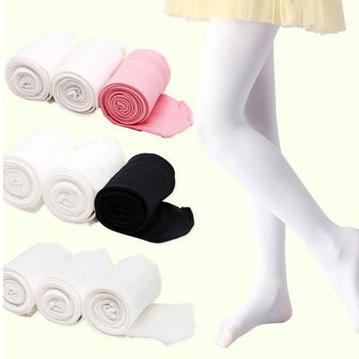 Child Kid Girls Dance Footed Tights Pantyhose Hosiery Stockings Ballet Dancewear