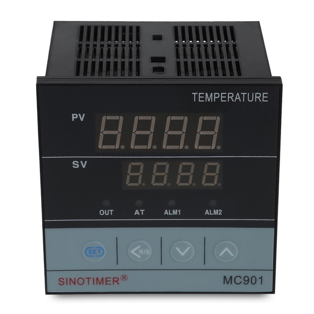 Thermostat KKmoon R/égulateur de Temp/érature Affichage de Temp/érature Haute et Basse du Thermom/ètre de Contr/ôleur de Temp/érature de Thermostat Intelligent de Digital