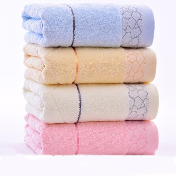 New 35*73CM Solid Towels Large Bathroom Sheet Hand Towel Face Home Supplies