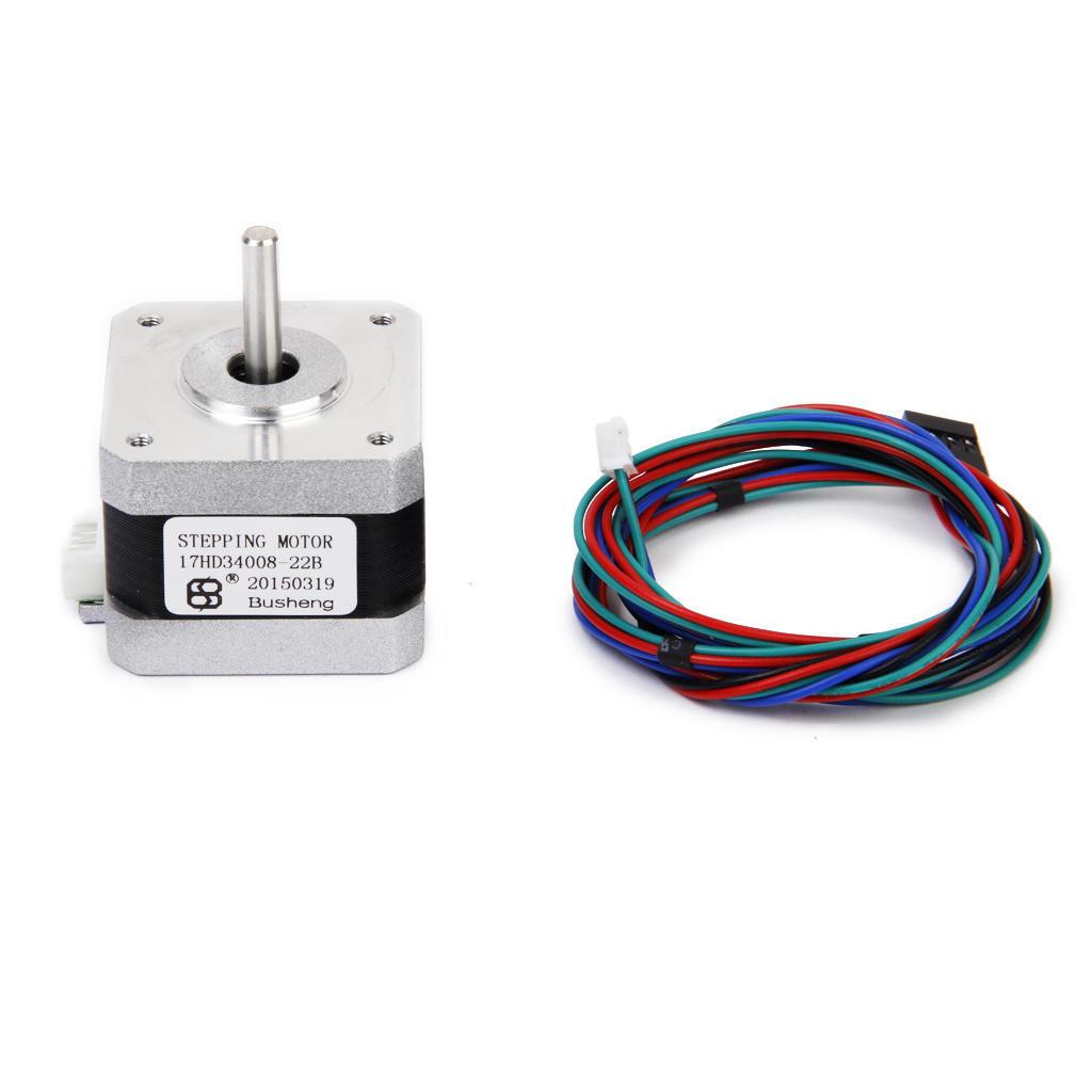 Nema 17 3d Printer Two Phase 4 Wire Stepper Motor For 18deg Diagram 17hd34008 22b