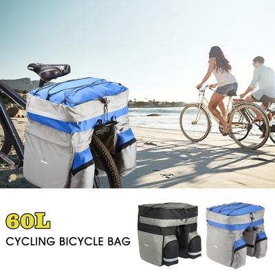 Sahoo 28L Bike Pannier Travel Luggage Carrier Nylon Bike Bag Bicycle