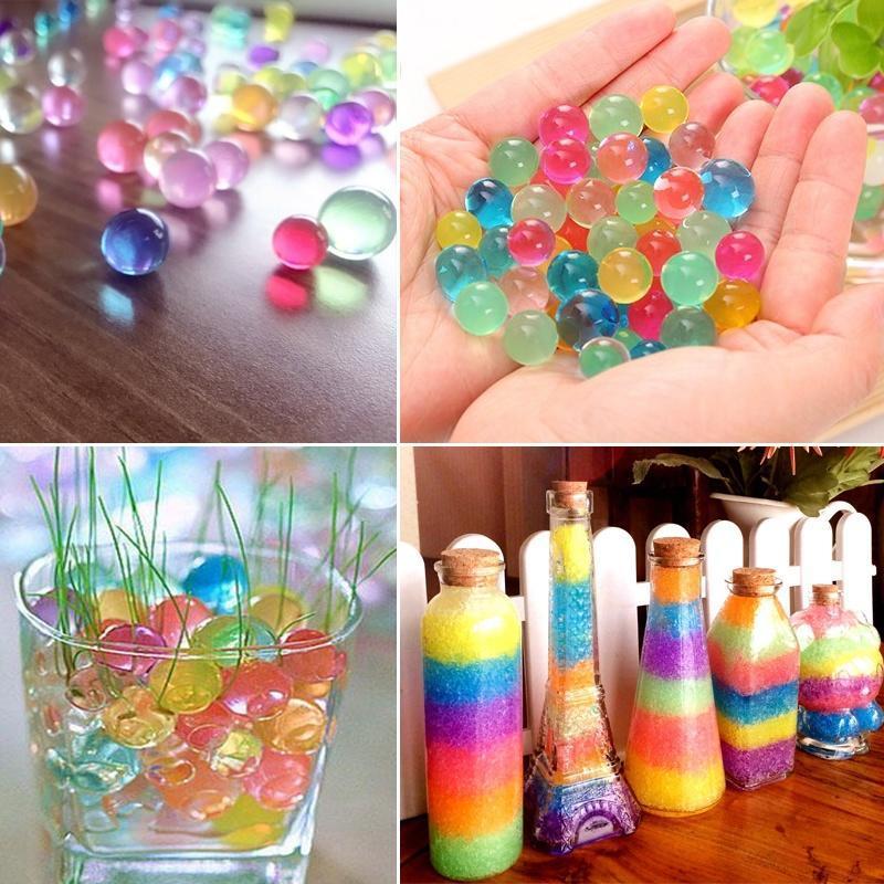 1e4e9571b Florero de decoración agua planta agua perlas Gel perlas bolas ...