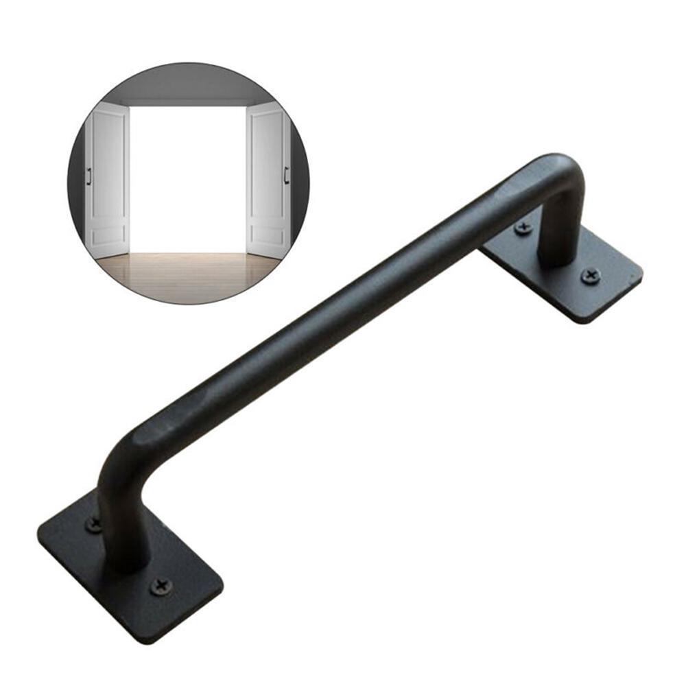 Nickel Plated Pull Garage Door Handle Gate Door Shed Metal Handle