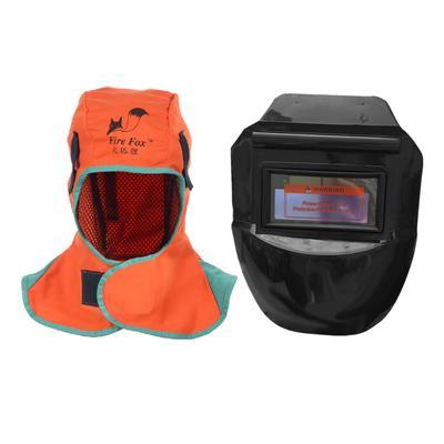 Flame Retardant Safety Helmet Welding Neck Protective Hood Welder Head Cap Cover