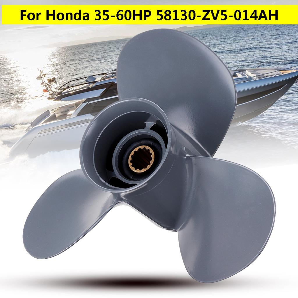11 1//4X13 Pitch Aluminum Outboard Propeller For Honda 35-60HP
