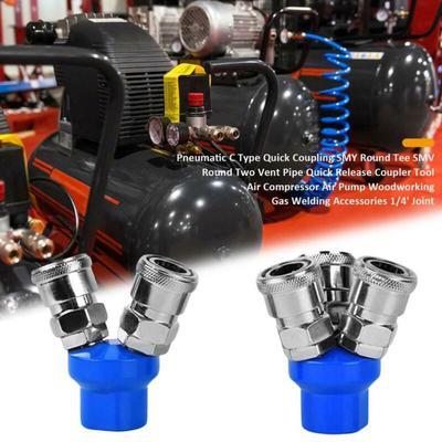2Pc 6mm de la válvula de control de velocidad de flujo de aire neumático Empuje Montaje Pipeline del acelerador