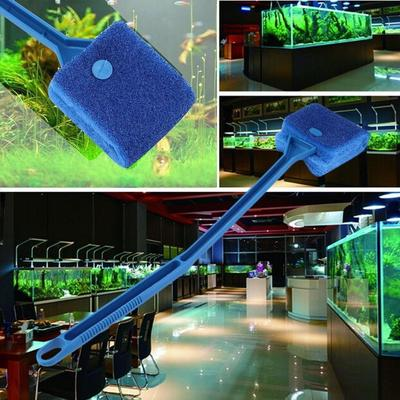 Pet Supplies Aquarium Cleaner Tool Kit Fish Tank Scrubber Fish Net Clip Tank Scraper Grabber Elegant Shape Fish & Aquariums