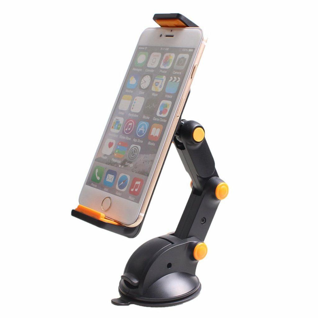 """360° Car Windshield Mount Holder For 7-11/"""" iPad Mini//2//3//4//Air iPhone Tablet GPS"""