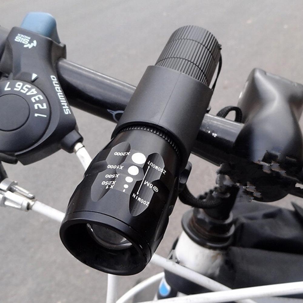 Велосипед свет LED 2500 люменов 3 Mode Q5 велосипед передняя водонепроницаемая лампа + держатель фото