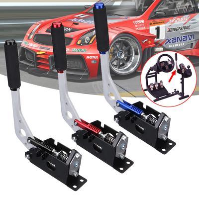 CNC Metal Sponge Handle USB Handbrake for Sim Racing Games Logitech