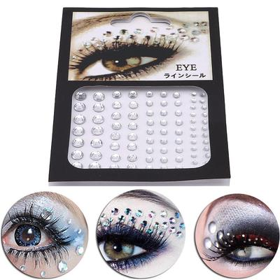 Jewel Eyes Makeup Crystal Eyes Sticker Diamond Makeup Eyeliner Party Eyeshadow Face Sticker Decor Buy At A Low Prices On Joom E Commerce Platform