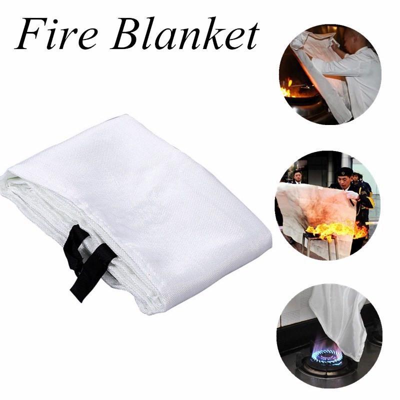 1PC Welding Blanket 1.8m X 1.2m Fiberglass Heavy Duty For Welders Blanket Safety