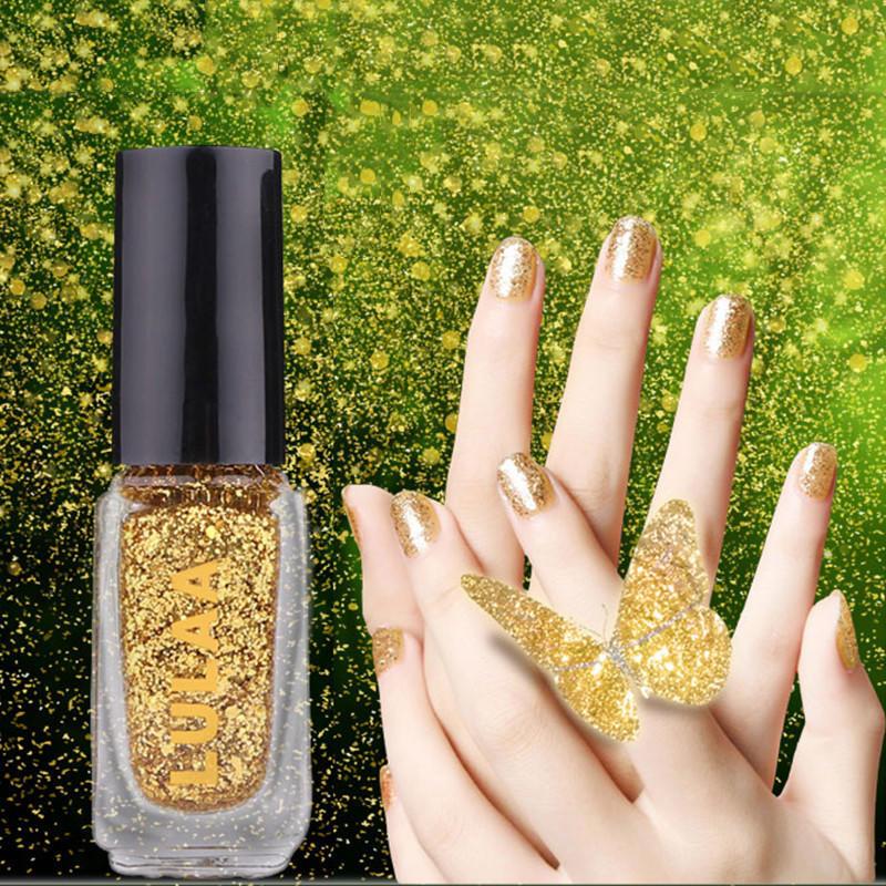 12 colores de precioso esmalte de uñas semipermanente Gel saludable ...