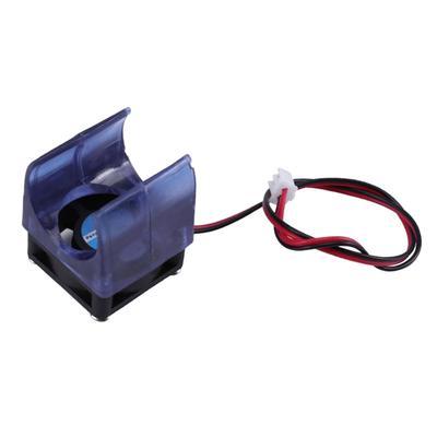 12V Blue Injection Molding V5 V6 Radiator Fan with Cover for 3D Printer