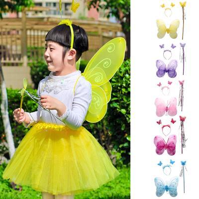 "18/""x19/"" Kids Teens Adults SPARKLE Fairy Princess WINGS Tinkerbell ANGEL Costume"