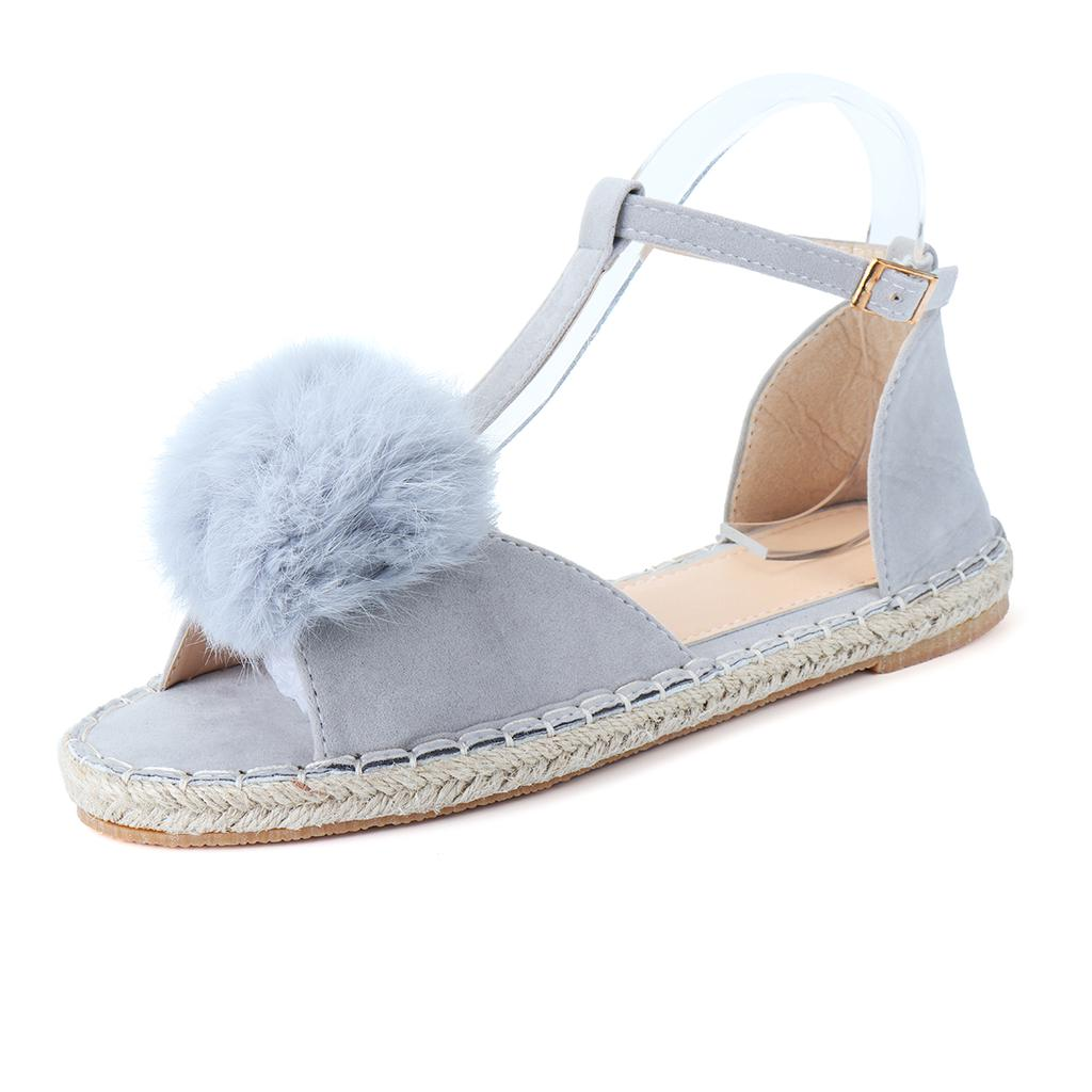 Pointed Cross Ankle Straps Fairy Shoes 2019 Spring New Korean Fashion Flat Shallow Mouth Girl Student Sandals