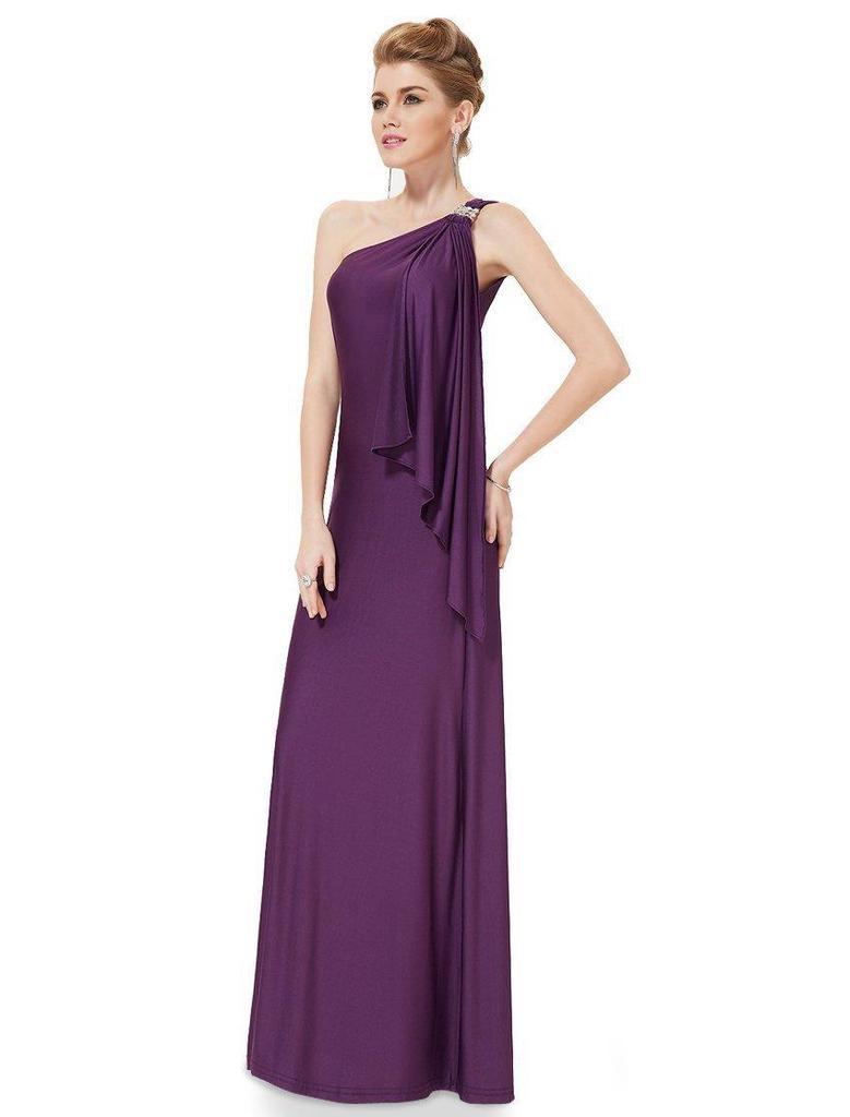 Ladys sin mangas solo coctel Prom Formal Ball vestido de noche ...