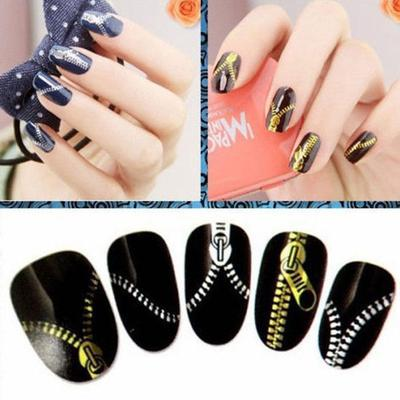 Nail art prices and delivery of goods from china on joom e acrylic 3d gold silver wraps nail art tips stickers manicure prinsesfo Choice Image