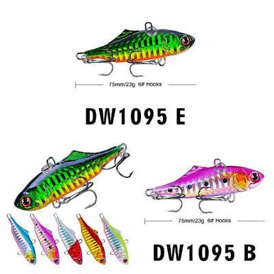1Pcs 2Colors Fishing Lures Hook Bass Fish Bait Skirt Jig Fishing iikk