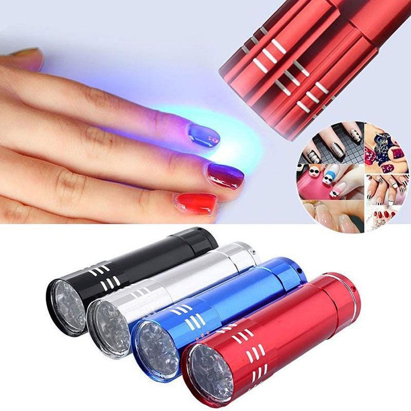 Portable Mini LED UV Gel Lamp Light Dryer Flashlight Torch For Nail Polish  Manicure - buy from 3$ on Joom e-commerce platform