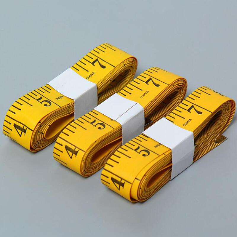 20pcs Soft Tape Measure Double Scale Measure Ruler for Sewing Tailor Cloth (Rand