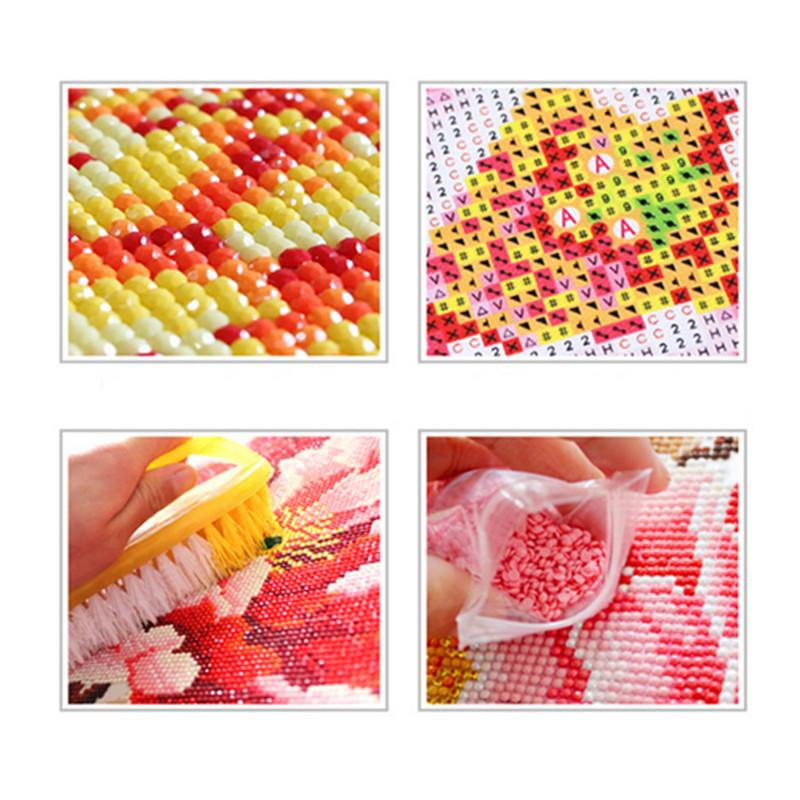 5D Full Drill Diamond Painting Cross Stitch Kits Embroidery DIY Home Decor Gift