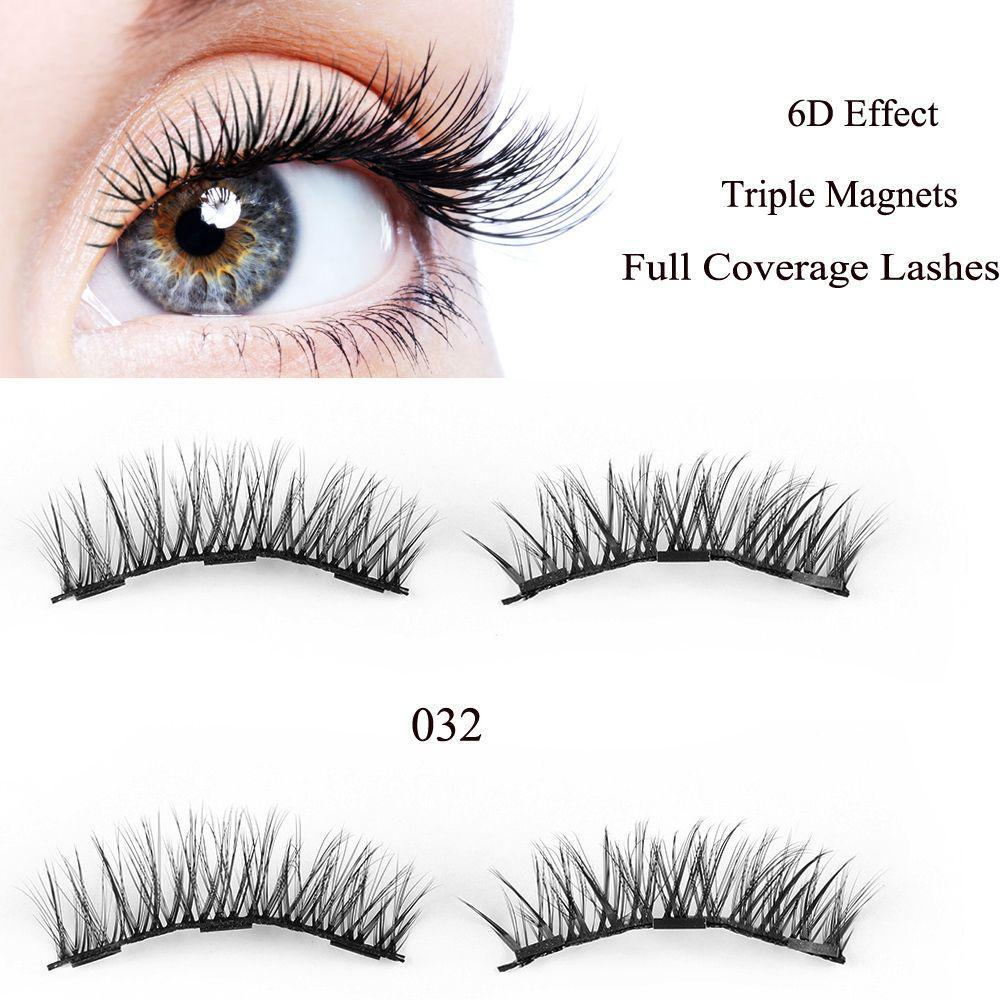 49cbc93dca9 SKONHED 4 Pcs Magnets Glue-free Magnetic Lashes Extension Tools Full ...