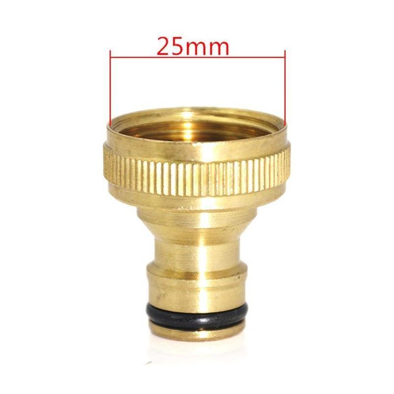 Universal Garden Watering Water Hose Pipe Tap Brass Connector Adaptor Fitting UK