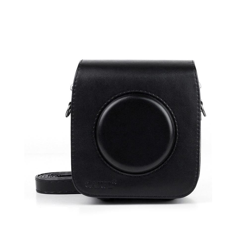 Cámara Bolsa De Cuero PU Funda Protectora Bolsa Para Fujifilm Instax Cuadrado SQ20