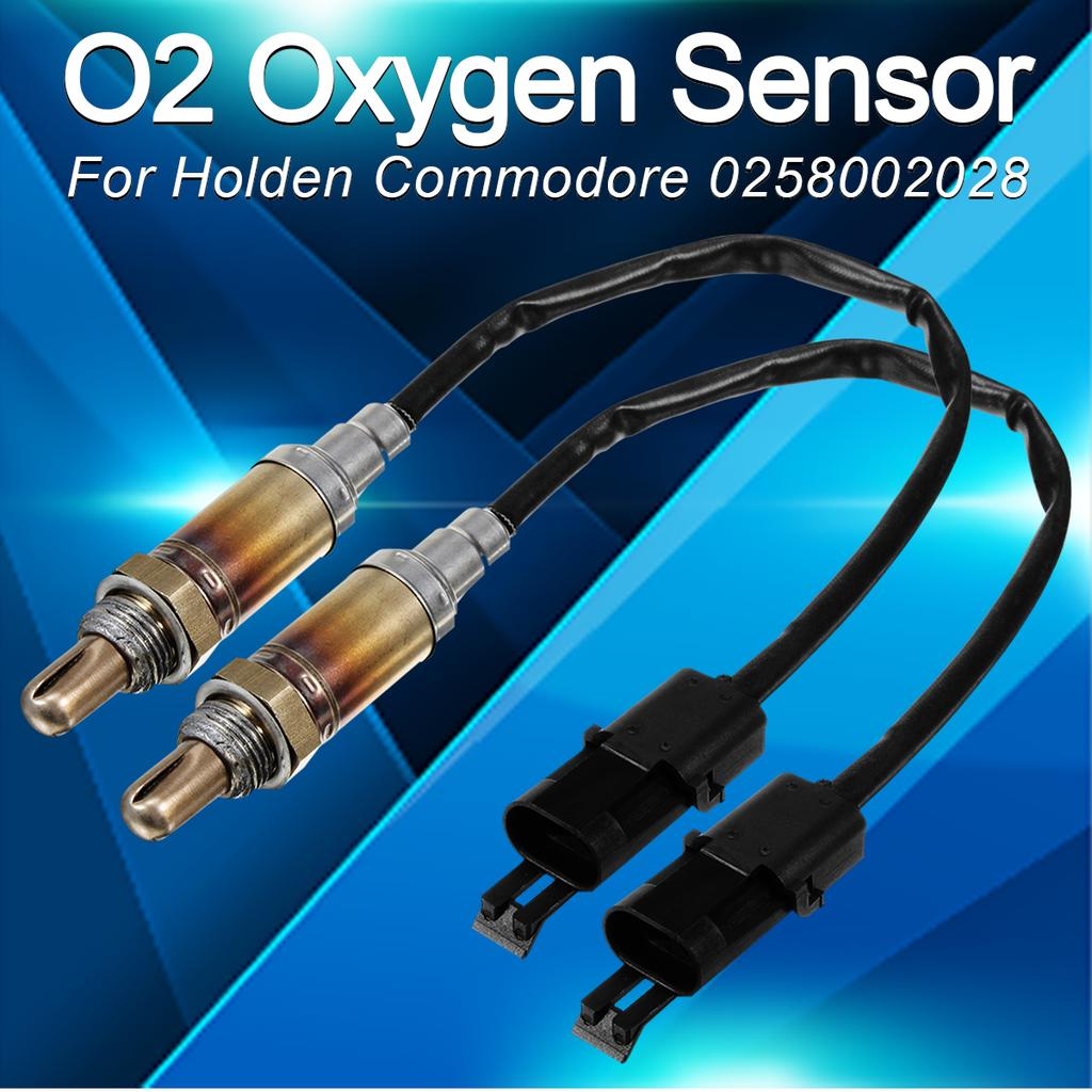 2*Downstream Oxygen Sensors 02 O2 for Chevy GMC Cadillac 4pcs total 2*Upstream