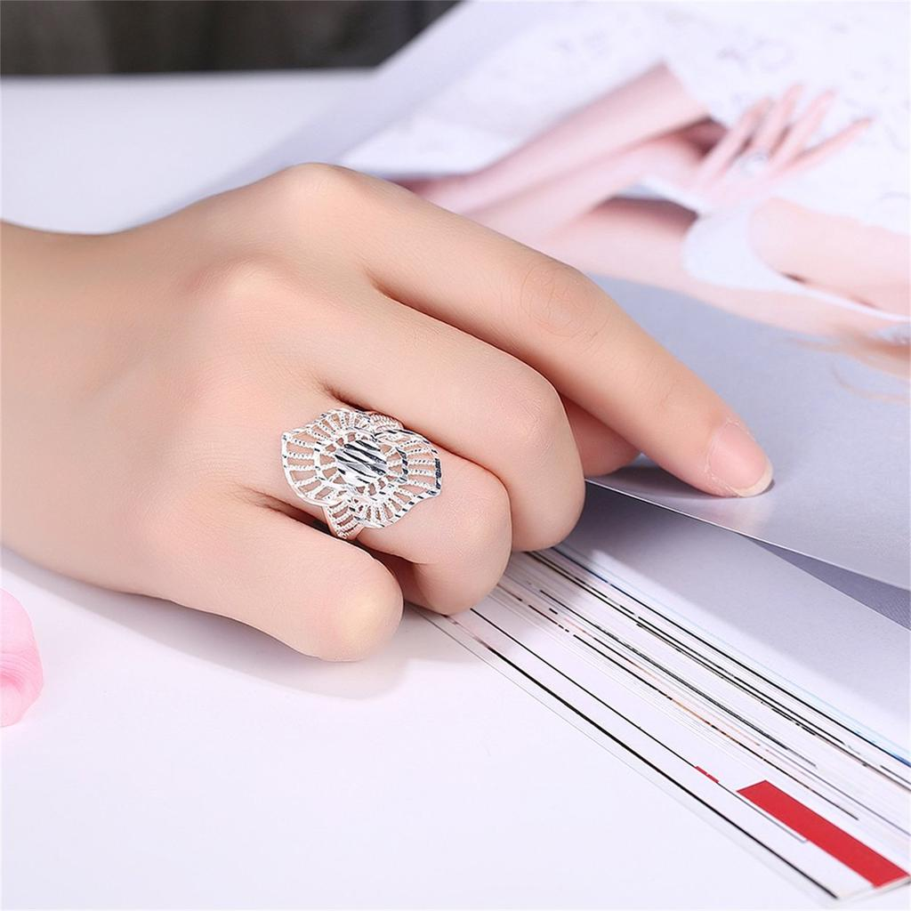 Classic Delicate Men Women Finger Bands Simple Engagement Wedding ...